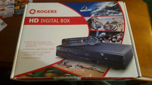 Rogers digital box comes with cord