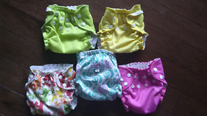 Cloth diapers, Apple cheeks covers