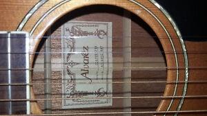 Guitare acoustique-électrique Alvarez Ad60sc naturelle