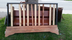 solid wood bed frame set and dining table set FREE!!!