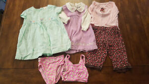Lot of Girl clothes (Size 6-9mo)