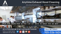 ANYTIME EXHAUST AND HOOD CLEANING - Don't risk your health