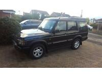 Land Rover Discovery 53 reg Black only 91k miles 7 seats GS model Manual