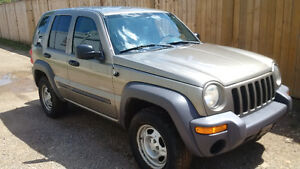 2004 Jeep Liberty Sport SUV, Crossover certified