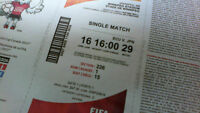 Match 29:ECU v. JPN  Tue, Jun 16 4:00 Sec 226 Row 1seat 15 -16