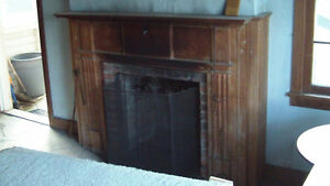 Tearing Down 1700's Farmhouse: Wood Fireplace Mantel Available London Ontario image 6