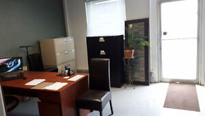 Small office in warehouse available.