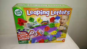 New in Box Leap Frog Leaping Letters Game