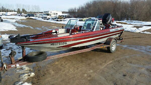 Bass Fishing Boat