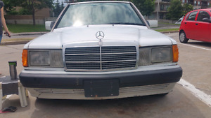 MERCEDES BENZ 190E 1992 CLASSIC CAR