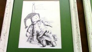 Nursery Sketches: Raggedy Ann and Andy, Peter Etril Snyder Kitchener / Waterloo Kitchener Area image 3