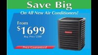 Furnace,heat pump, air conditioner 3449$