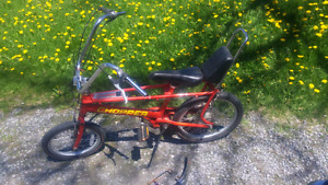 Raleigh Chopper bicycle 3 speed Arrow wedge need service