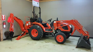 Kioti CK3510 HST W/Backhoe - Amazing Pricing!!