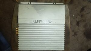 "Kenwood AMP and Two 10"" Subs in Box"