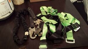 Harness, Lanyard, Rope Grab