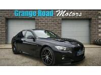 2013 63 BMW 3 SERIES 2.0 318D M SPORT 4D AUTO 141 BHP SAT NAV M PERFORMANCE DIES