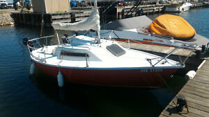 Adel 540 Sail Boat and Trailer