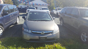 2007 Honda Civic 5 Speed Manual Transmission-Very good condition Prince George British Columbia image 3
