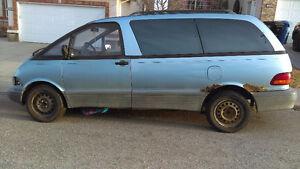 1991 Toyota Previa Minivan, Van