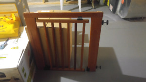 2 Wooden Gates: Munchkin and Baby First! Moving Sale! $45 each!