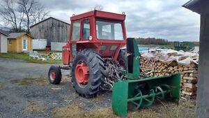 tracteur avec souffleur massey 1085