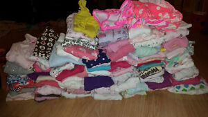 Big lot of baby girl clothes