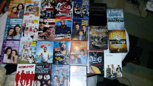 Lot of 140 Dvd's and Some T.v. Season