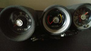 1965 Mercury Comet gauges