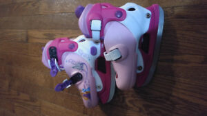 Toddler adjustable skates