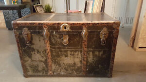 Vintage Steamer Trunk *Phil's Grandmother's Chest*