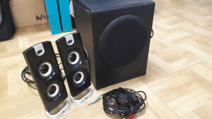 Bluetooth Speakers, Chair, Laptop Bag, Computer Speakers/sub....