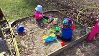 Bilingual childcare available