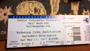 SOLD - One Half Moon Run Ticket for sale