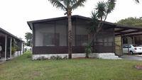 Maison mobile pour vos vacance d'été en Floride $75 usd par jour
