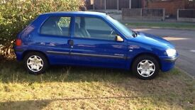 Car for sale offers welcome Peugeot 106 with MOT