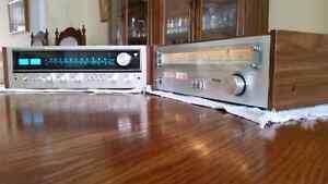 True 70s Stereo Vintage Pioneer Receiver & Technics Tuner