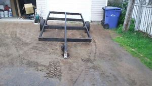 chassis pour cabane a peche
