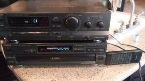 Technics receiver and CD player stereo