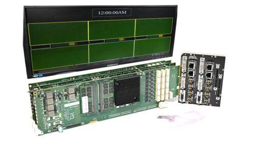 Evertz 7867VIPX32x2 3G/HD/SD Multi Image Display Processor Multiviewer XLINK