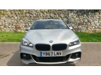 2018 BMW 2 Series 220i M Sport 5dr - Satellite Navigation System and Auto Hatchb