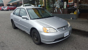 2002 Honda Civic 1.7L Sedan