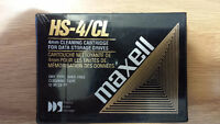 Maxell HS-4CL 4mm DDS cleaning cartridge
