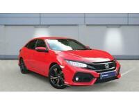 2017 Honda Civic 1.5 VTEC Turbo Sport CVT Automatic Hatchback Petrol Automatic