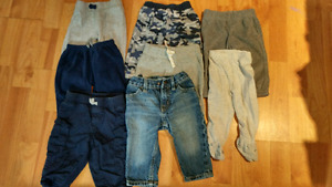 Baby boy clothes. Sizes 3-6, 6-9 ($50)