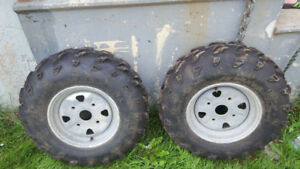 Atv tires open to reasonable offer