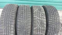 4 Michelin X Ice size 195 65 15 winter tires