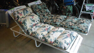 Patio Lounge Chairs - two available
