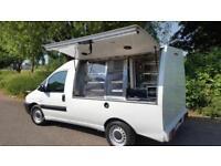 Peugeot Expert 20 Hdi, bonhoeffer Conversion Jiffy Van/Catering Van *NO VAT*