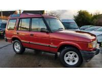 1997 Land Rover Discovery 2.5TDI AUTO 4X4*VERY LOW MILEAGE*ONE OWNER